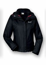 JACK WOLFSKIN WOMENS 3 IN 1 NOVA SCOTIA HIKING JACKET & FUR FLEECE - BNWT 2014