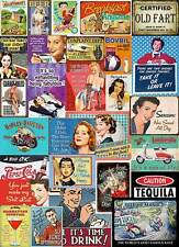 Multi Designs Vintage Retro Wall Signs & Advertisement Metal Wall Sign Plaque L3