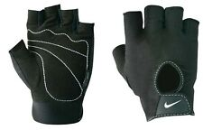 Nike Gloves Mens Fundamental Sports Training Weight Lifting Black Brand New
