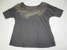 New Women's One September Anthropologie Gray Knit Top - Sizes S, M, L ($78)