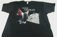 New Mens Black Josh Groban Before We Begin Tour 2012 T-Shirt Size S M L XL 2XL