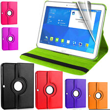 360° Rotation Leather Case Cover Book Stand Samsung Galaxy Tab 4 T530 10'' Inch