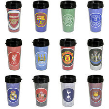 Football Team OFFICIAL Travel Mug - Coffee Tea Cup - Premier League Club NEW