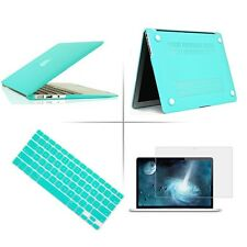 "Tffany Blue Rubberized case keyboard cover Macbook Pro Air Retina 11 13 15""inch"