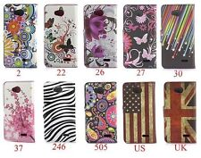 FLIP wallet leather case For LG L90 D405  mobile smatrphone cover from China