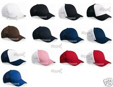 250 Flexfit Trucker Cap Fitted Mesh Baseball Hats 6511 One Size Hat WHOLESALE