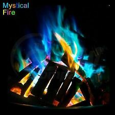 Mystical Fire Coloured Flames Magic Colour Changing Fire For Log Burner & Wood