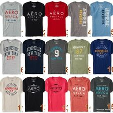 Aeropostale Men's T-Shirt NWT A87 19 Graphic Tee Shirt aero 2014 ****