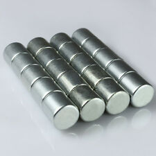 N35 Strong Small Disc Round Cylinder Magnets 10 x 10 mm Rare Earth Neodymium