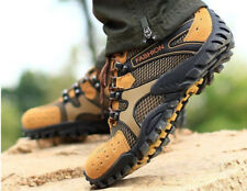 Men's Suede breathable trail outdoor Atheletic casual lace up Hiking Shoes new