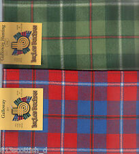 Tartan Sash District or Regional Ladies Scottish Plaid Ships free in US