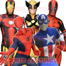 MORPHSUIT MARVEL SUPERHERO MORPHSUITS HALLOWEEN FANCY DRESS COSTUME
