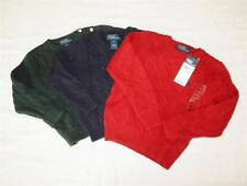New Toddler Boy's Polo Sweaters Size 24m, 2T, 4T - NWT - Various Colors!