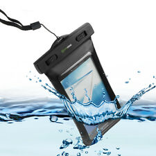 Waterproof Case w/ Armband &Neck Strap For iPhone Samsung LG HTC Nokia CellPhone