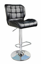 Modern Taurus Padded Swivel Leather Breakfast Kitchen Bar Stools Pub Barstools