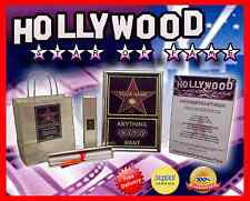 PERSONALISED HOLLYWOOD STAR VALENTINES GIFT FOR DAD GRANDAD GRANDDAD GRANDFATHER