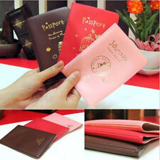 Fashion Passport Ticket ID&Document HoldeR Credit Card Travel Cover Protector