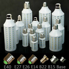 E14 E26 E27 E40 B15 B22 5W 6W 8W 12W 15W 25W LED 5050 Lights Bulb Lamp 110V 220V