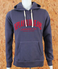 Replay Jeans Mens Sporty Hoodie M6453 Blue Red Ship Worldwide