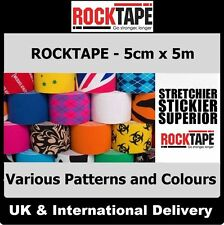 ROCKTAPE Kinesiology Sports K Tape Elastic Physio Injury Support Muscle Pain MMA