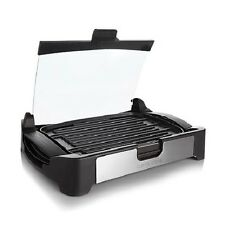 Curtis Stone Reversible Grill and Griddle with Glass Lid 1700 Watt Nonstick