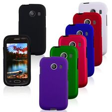 Rubberized HARD Skin Snap On Phone Case Cover for Samsung Galaxy Ace Style S765C