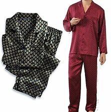 Men's Premium Silk Charmeuse Pajamas NWT
