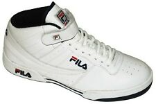 FILA F-13 HIGH TOP TRAINERS WHITE UK SIZE 6 , 7 , 8 , 9 , 10 , 11
