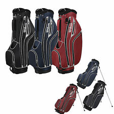Wilson Golf Sac Support Chariot *40% Solde Prix* Neuf Noir Ou Rouge