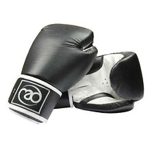 Fitness Mad Boxing Premium Leather Pro Sparring Boxing Gloves - Multi Layer Foam