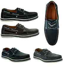 FREE SHIPPING New Men's Brixton Boat Shoes Casual Moccasin Lace Up Loafers Dacio