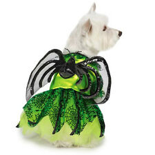 NEON SPIDER PRINCESS Dog Halloween Costume, ALL SIZES Zack & Zoey Dress Fairy