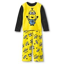 Despicable Me Boys' Minions 2-Piece Fleece Sleep Set