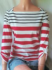 NWT TOMMY HILFIGER WOMENS STRIPE BOATNECK TOP