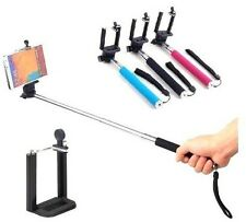 Extendable Selfie Stick Monopod For iPhone Samsung Phone Camera pole Holder USA