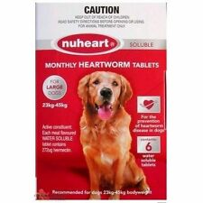 NUHEART Soluble Heartworm Monthly Tablets - ALL SIZES AVAILABLE