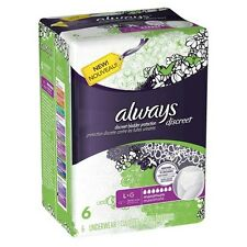 Always Discreet Maximum Absorbency Incontinence Underwear Large