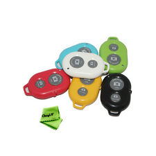 Wireless Bluetooth Self-timer Remote Camera Shutter for IOS iPhone Samsung