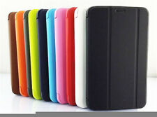 PU Leather Folio Case Stand Cover For Samsung Galaxy Tab3 7.0 Lite T110 T111 Luo