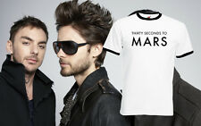30 Seconds To Mars American Punk Rock Band Ringer Music Tour T-shirt All Sizes