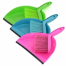 Mini Plastic Dustpan And Brush Set Soft Cleaning Sweeper Hand Kitchen Dust Pan