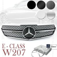 (6 Colors) Front Grille AMG for Mercedes Benz E Class W207 A207 C207 2DR 2009-13
