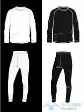 PERYSHER THERMAL UNDERWEAR ADULTS SET! Size: XS to 2XL