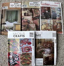 Choice of NIP Simplicity & McCall's Home Decorating & Accessories Craft Pattern