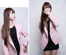 Best-selling  New Design Lady One Piece Long Straight 2 Clips In Hair Wigs