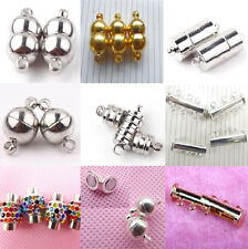 Hot Sales 5/10Sets Rectangle Round Strong Magnetic Clasps Jewelry Finding Making