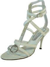 Dyva Women's Ankle strap Italian Leather Dressy Sandal 19950