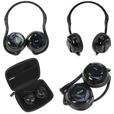 Wireless Bluetooth Stereo Handsfree Headset Headphone For Cell Phone Tablet PC