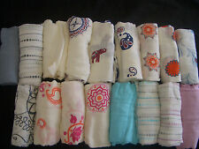 NEW Aden and Anais Bamboo Swaddle Blanket Boutique Many pattern you pick