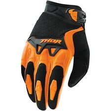 Thor NEW 2016 Mx Gear Spectrum Orange BMX MTB Motocross Dirt Bike Adult Gloves